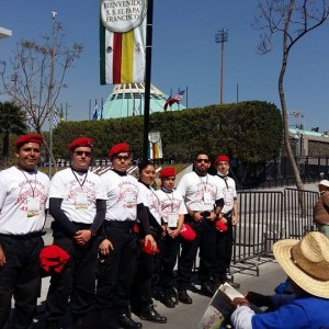 The Guardian Angels of Mexico join together with local agencies for Pope Francis visit to Mexico