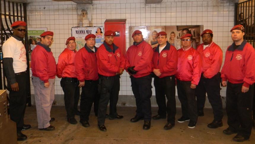 ABC7NY: Guardian Angels back on duty on subways