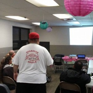 The Cleveland Guardian Angels Provides Training to Community Organizations on effective communication skills to keep peace in protest situations