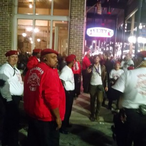 Florida Guardian Angels chapters converge in Tampa to maintain safety of citizens during annual Gasparilla Knight Parade